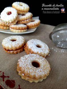 Biscotti di frolla e marmellata | Pane Amore e Fantasia!