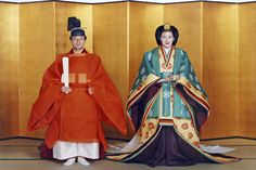 Crown Prince Naruhito and Crown Princess Masako wedding on June 9, 1993