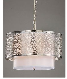Dining Room Light Fixture - this is our new one! Love it! - Overstock!