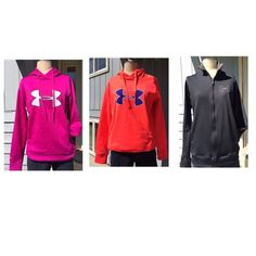 2 NWTGS  UNDER ARMOUR  & 1 Lightweight Jacket 2 NWTGS HEELY HOODIES & 1 Lightweight Jacket HEELY Tops Sweatshirts & Hoodies