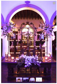 Mesa de novios #Wedding #Decoration