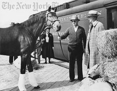 Seabiscuit and His Trainer - 1938