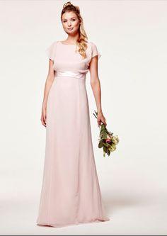 Maids to measure Isla pink maxi bridesmaid dress Beautiful Bridesmaid Dresses, Bridesmaid Outfit, Wedding Bridesmaid Dresses, Prom Dresses, Bridesmaids, Grooms And Ushers, Maids To Measure, Pink Dress, Pink Maxi