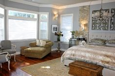 window treatments for two story family room - Google Search