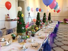 Love Lucia's Mad Hatter's Tea Party - Alice In Wonderland, Mad Hatter, Tea Party, Afternoon Tea, Children's Birthday, Children's Party, Children's celebrations