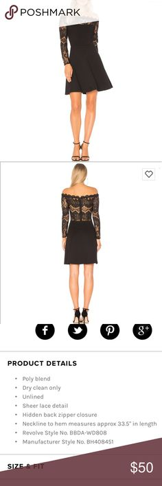 BB Dakota off the shoulder dress So gorgeous. NWT. Size 4 See photo for description!   💗Thanks for looking! Please check out the rest of my always growing closet! I have tons of NWT brand name and high end items at around 60% off retail! Anthropologie Dresses