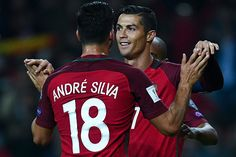Cristiano Ronaldo is urging Real Madrid to sign Portugal team-mate Andre Silva – a reported target for Arsenal. The Porto forward has scored 20 goals in 36 appearances for his club this seaso… Portugal Football Team, Portugal Soccer, David Ramos, Latest Football News, Cristiano Ronaldo Cr7, Fc Porto, Transfer Window, Europa League, Ac Milan