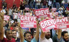 Mais seis entidades aderem à greve geral; veja quem para