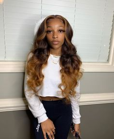Rose PrePlucked Ombre Blond Lace Frontal Wig Density The most fashionable wig in 2020 My Hairstyle, Wig Hairstyles, Blonde Weave Hairstyles, Frontal Hairstyles, Quick Hairstyles, Wig Styles, Curly Hair Styles, Honey Blonde Hair, Ash Blonde