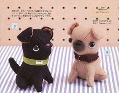 Cute Puppy Bulldog Plush Sewing Pattern PDF by AliceInCraftyland, $1.90