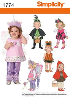 Simplicity Creative Group - Toddler Costume