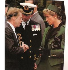 May 9, 1991: Prince Charles & HRH Diana, Princess of Wales visited the Prague War Cemetery during a trip to Czechoslovakia.