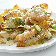 Crab and shrimp nachos:)
