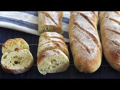 Discover recipes, home ideas, style inspiration and other ideas to try. French Baguette, Pain Baguette, Homemade Sandwich Bread, Baguette Recipe, Grape Jam, Boursin Cheese, Pastry School, No Knead Bread, Homemade Butter