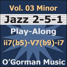 Practice minor Jazz Turn-Arounds. Serious jazz musicians should learn this classic minor progression.  Available for immediate download from your favorite online music store:  iTunes, GooglePlay, Amazon, and others!