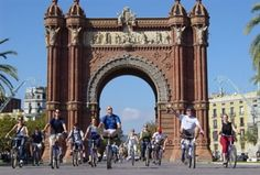 Fat Tire Bike tours~Barcelona