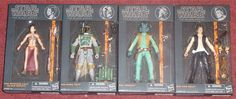 Hasbro Star Wars Black 6 Inch Series - Wave 2  Entertainment Earth delivered a fresh case of figures for list price and free postage.  Cancelled my Hasbro Toy Shop order that was scheduled for December!  #05 Princess Leia (Slave Outfit)  #06 Boba Fett  #07 Greedo  #08 Han Solo