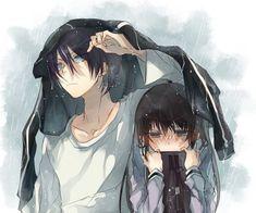 Stay with me, Yato. [Noragami Yatori fanfic] [Yato and Hiyori] - Introduction - Wattpad Anime Noragami, Yatogami Noragami, Yato And Hiyori, Anime Amor, Anime W, Anime Lindo, Anime Kawaii, I Love Anime, Manga Couples