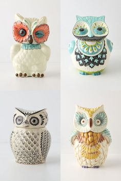 owl canisters for the kitchen 1000 ideas about owl cookie jars on cookie 25389