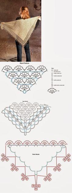 http://fifiacrocheta.blogspot.com/2014/03/xale-de-croche-triangular-com-grafico.html
