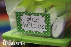 Miss Kindergarten: Storing Your Classroom Supplies #makeamazing