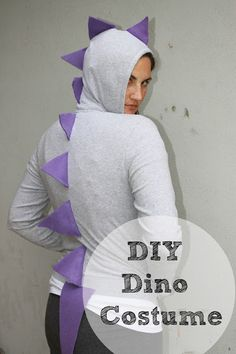 Whatever dee dee wants shes gonna get it dinosaur hoodie cheap and easy diy dinosaur costume solutioingenieria Choice Image