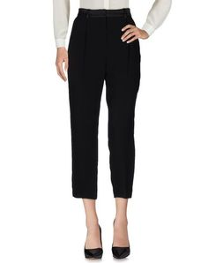 Pinko Women Cropped Pants & Culottes on YOOX. The best online selection of Cropped Pants & Culottes Pinko. YOOX exclusive items of Italian and international designers - Secure payments Burberry Women, Mcq Alexander Mcqueen, Culottes, Beach Wear, Cropped Pants, Black Pants, Casual Pants, Versace, Prada