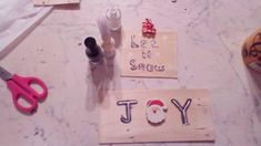 Whether you want to save money, or just personalize your home, these DIY projects are a great way to put your mark on your home. You can make many of these with crates and write a message on it with nail polish, if you use 2 colours the dark underneath and the light one above the letters looks like 3D Old Wood, Christmas Projects, Facebook Sign Up, 2 Colours, Crates, Handmade Items, Nail Polish, Diy Projects, Joy