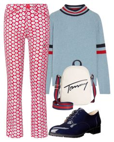 """casual"" by balda1989 ❤ liked on Polyvore featuring The Elder Statesman, Nine West, Tory Burch and Tommy Hilfiger"