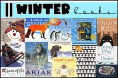 Students read winter books and complete fun activities around the reading!