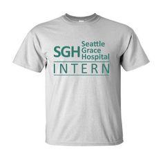 Grey's Anatomy SGH Seattle Grace Hospital Intern