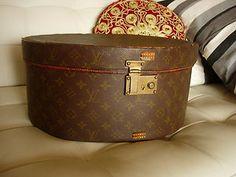 Louis Vuitton Boite Chapeaux Hat Box Trunk Suitcase Luggage LV