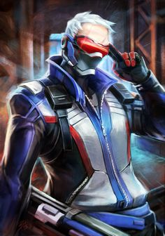 soldier76 from Overwatch