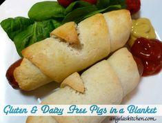 Gluten Free Dairy Free Pigs in a Blanket GFCF