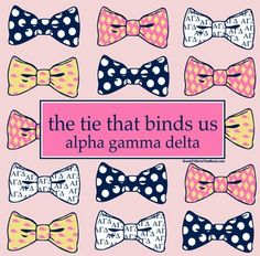 bow~tastic AΓΔ ❀ cute on a shirt!