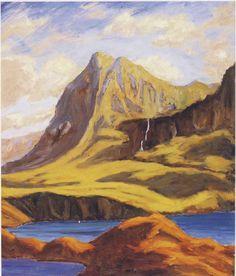 Winston Churchill ~ Mountain Near Lochmore