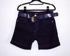 Shorts jeans feminino com cinto [R$ 89,90]