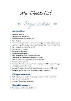 Kit de fiches organisation a imprimer pour les comptes - Organisation menage quotidien ...