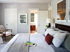 Get to the Art of the Matter - Designer Tricks for Living Large in a Small Bedroom on HGTV