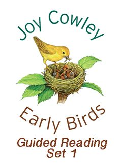 The Joy Cowley Early Birds Guided Reading Set 1 includes 6 copies of each Early Birds Set 1 title (90 books in total).