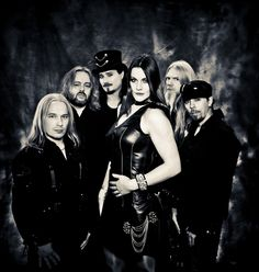 Nightwish, with Floor Jansen and Troy! So glad they are now part of this band besides Floor being with another one my favourites Revamp!