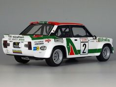 FIAT ABARTH 131 Rally 1/24 Carros Suv, Rally Raid, Fiat Abarth, Car Museum, Model Building, Airplanes, Diorama, Cars And Motorcycles, Cool Cars