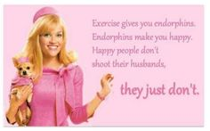 Happy people just don't shoot their husbands.