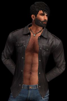 https://flic.kr/p/QUpGCB | !BBN! Epaulet Shirt Brown TXT_001 | New !BBN! Twinpack Epaulet Shirt - 5 Colours and a Superb HUD set sold separately - @ maps.secondlife.com/secondlife/Sirtony/208/187/116