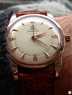Jigen tumblr — omegaforums: Vintage Omega Seamaster In Rose...