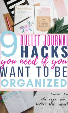 These bullet journal hacks are THE BEST! I am so happy I found these GREAT bullet journal layouts ideas and tips! Now I have great ways to decorate my bullet journal on a budget. So pinning!