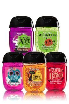 Halloween Fun 5-Pack PocketBac Sanitizers - Soap/Sanitizer - Bath & Body…