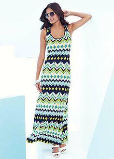 Tribal Print Dress on shopstyle.co.uk