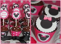 DIY Minnie Mouse Pink Deluxe PRINTABLE by CupcakeExpress2 on Etsy