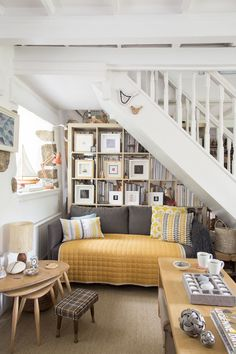 Sea view Cornish cottage is charmingly quirky and classic at the same time